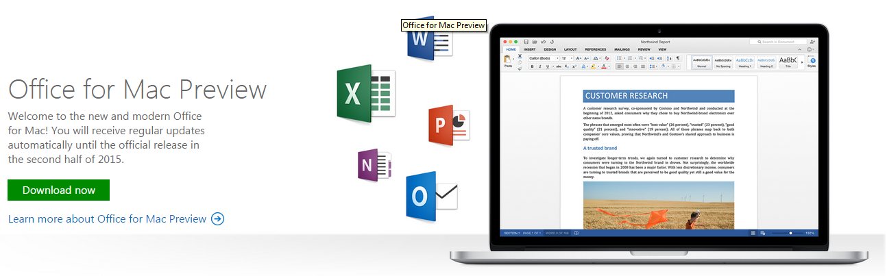 Microsoft launches office 2016 for mac preview free download available - Free office download for mac ...
