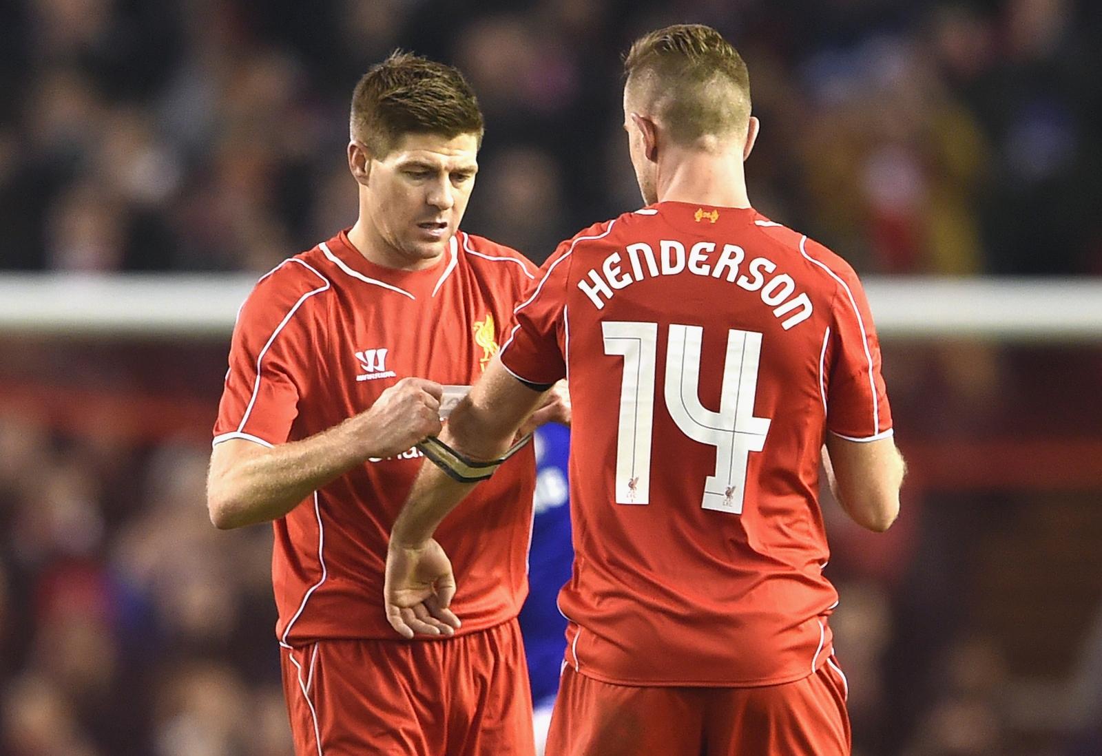 Jordan Henderson Steven Gerrard