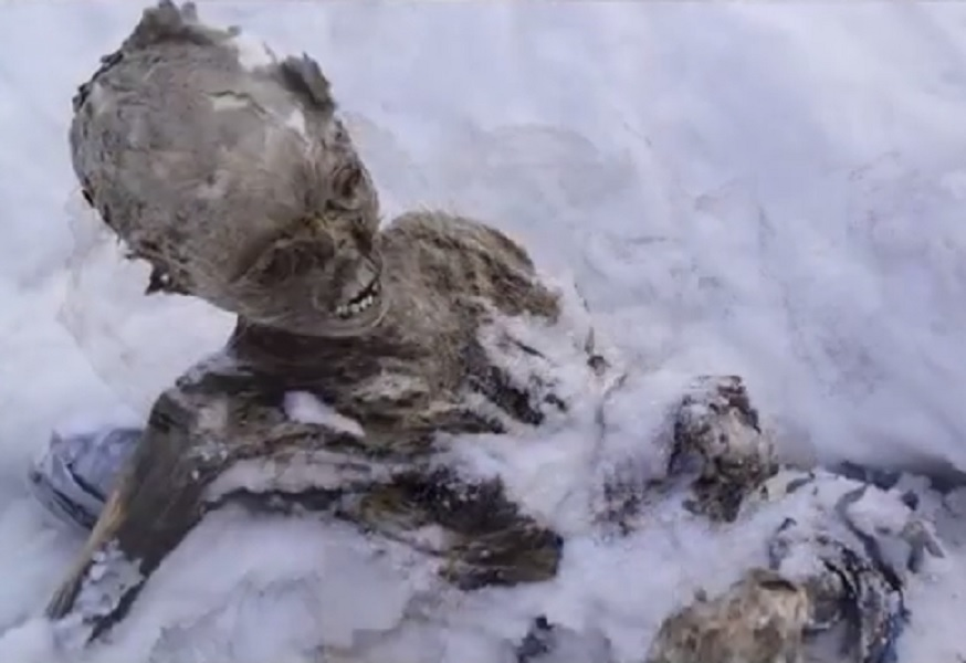 mummified mountaineers mexico