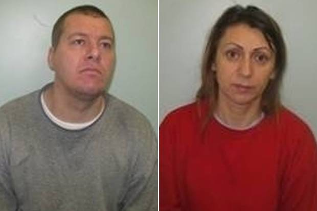 Ovidiu-Constantin Plamada, 31, and Mariana Sandra,43