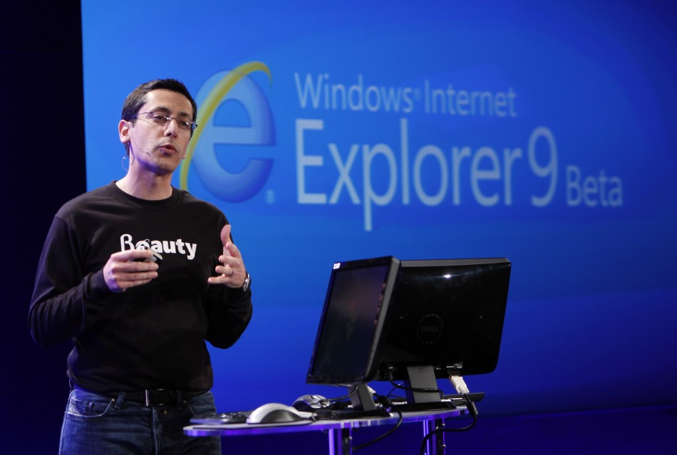 Microsoft Corp Vice President of Internet Explorer Dean Hachamovitch