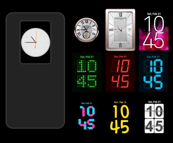 LG Clock Widgets