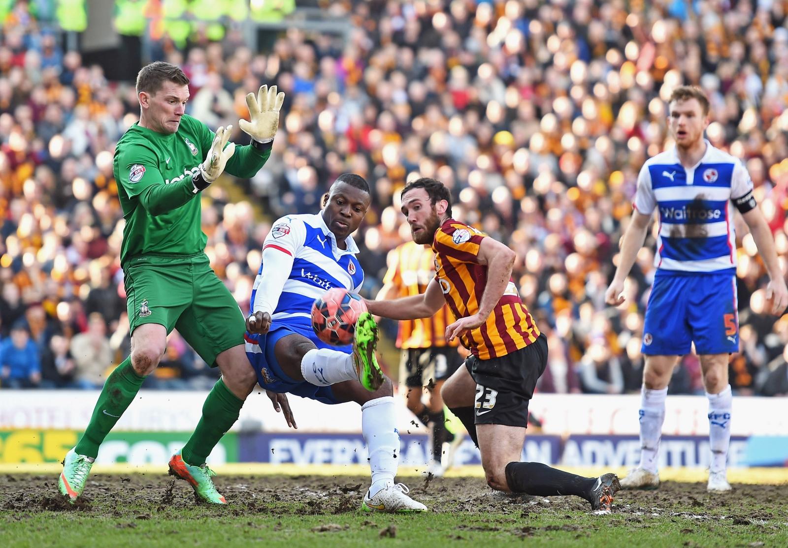 Bradford City v Reading