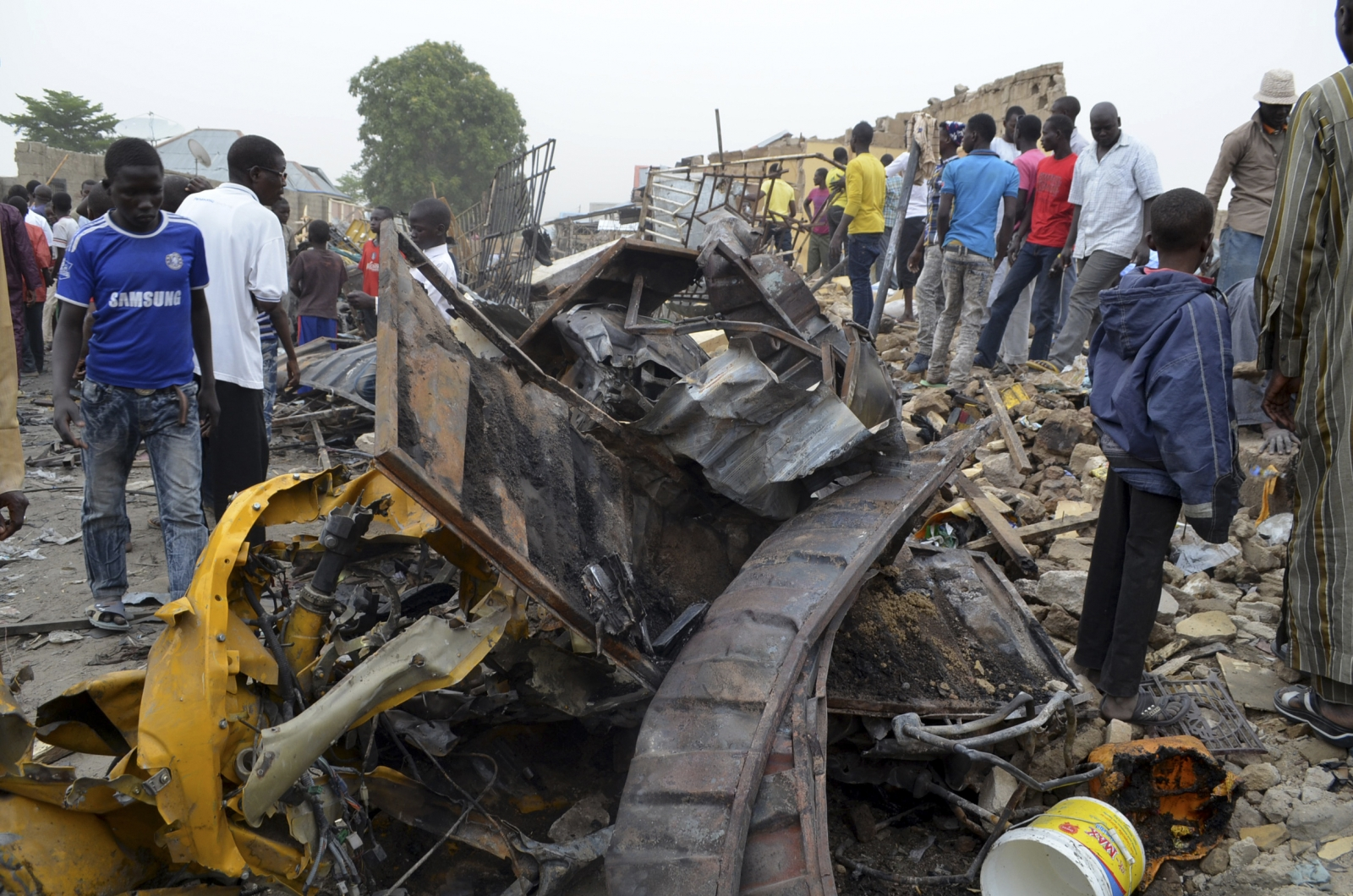 Suicide bomb attacks in Maiduguri.