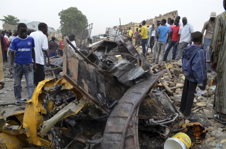 Suicide bomb attacks in Maiduguri.