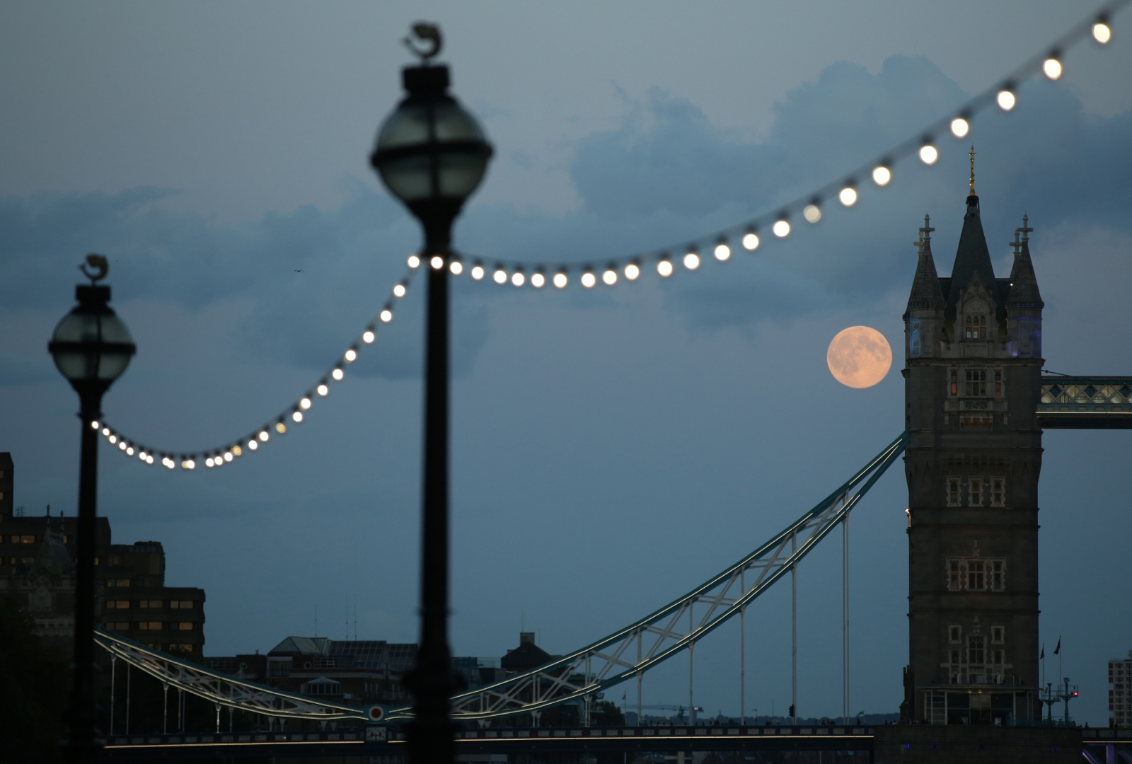 Supermoon September 2014 UK