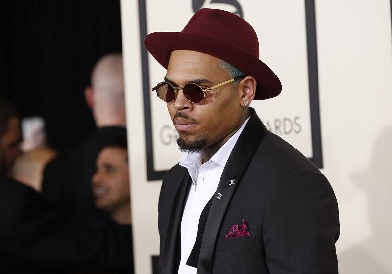 Chris Brown 2014 Grammys