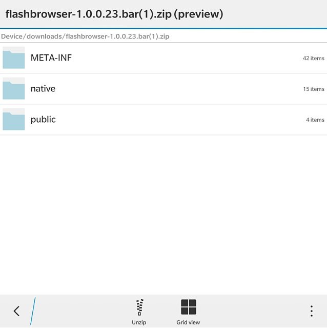 How to get Adobe Flash on BlackBerry OS 10 3 1 browser
