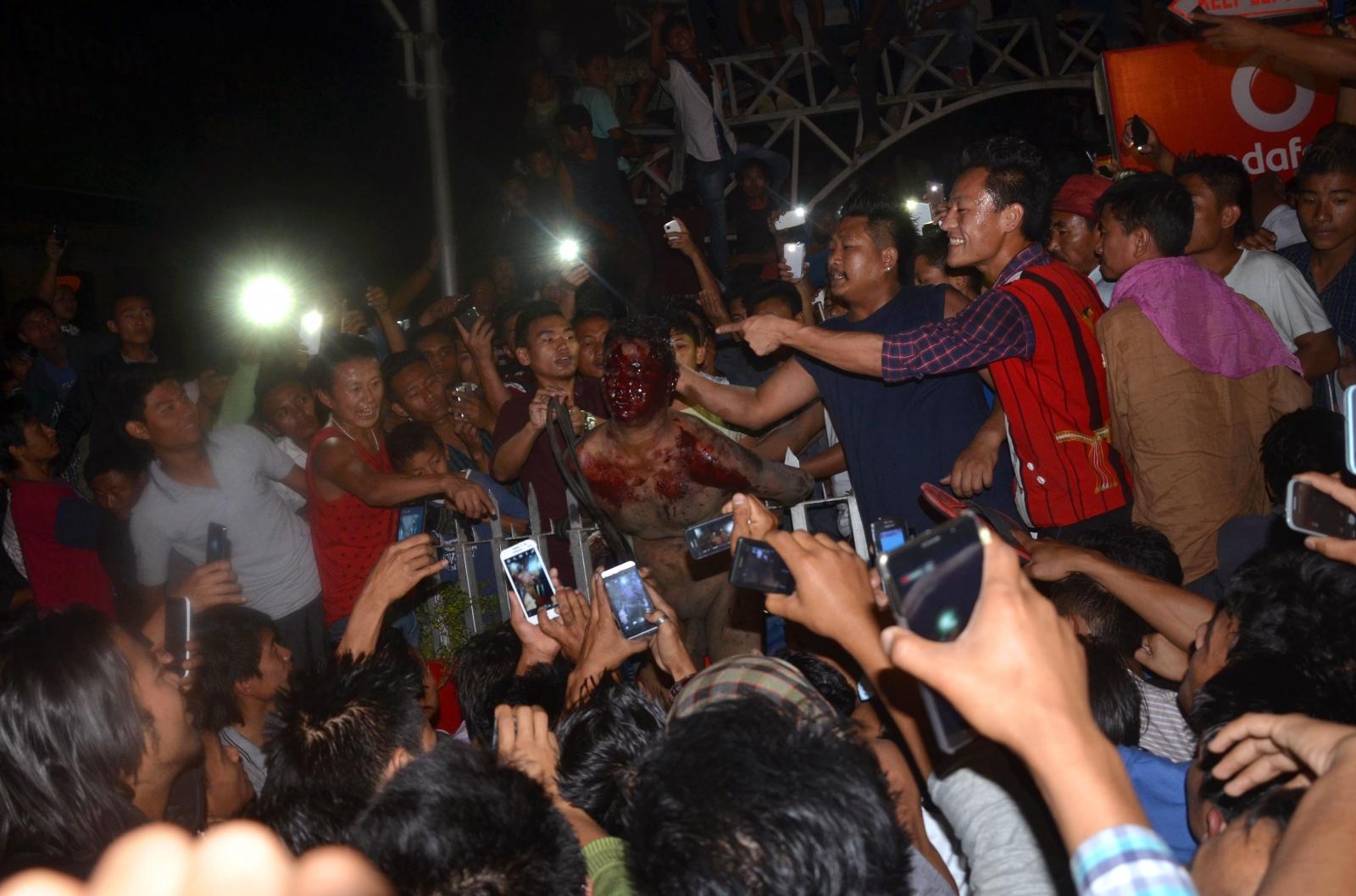 India Nagaland mob lynching