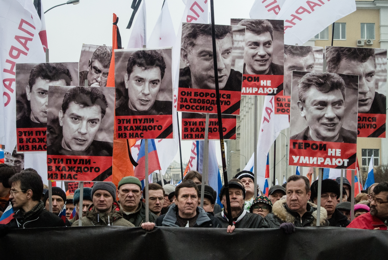 Convicted Nemtsov Killers Given Lengthy Prison Terms