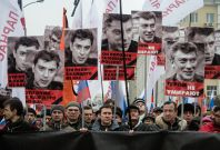 Boris Nemtsov murder rally