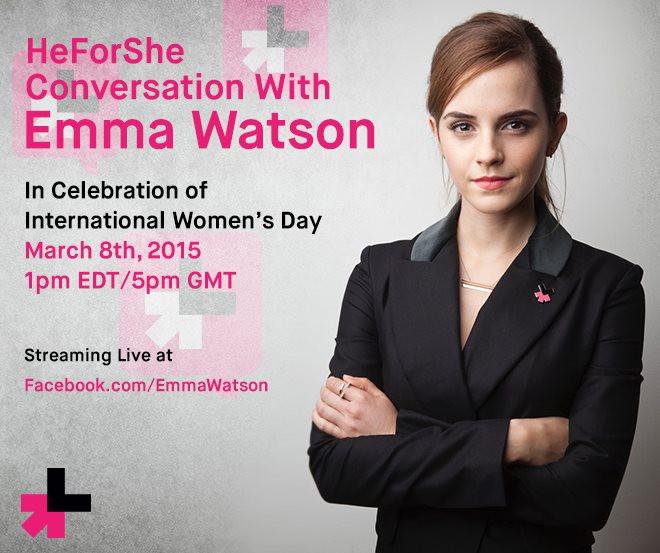 HeForShe conversation with Emma Watson