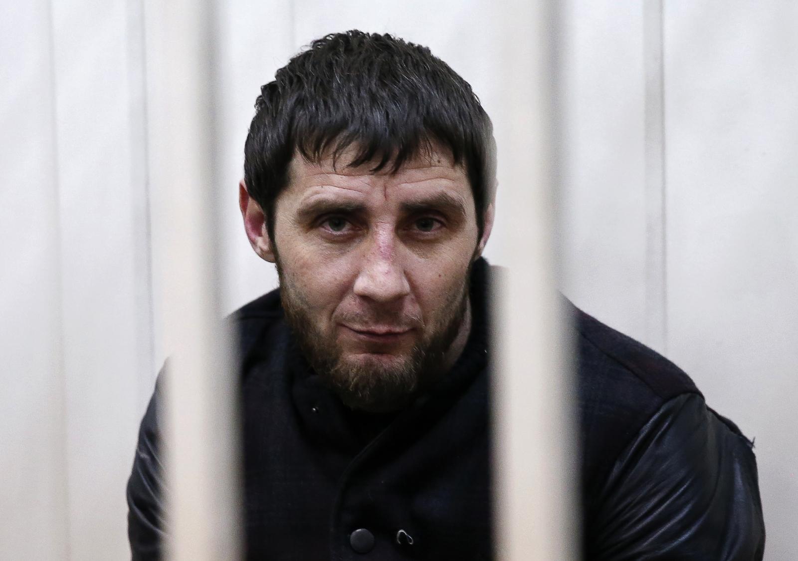 Zaur Dadayev, charged with involvement in themurderofBorisNemtsov