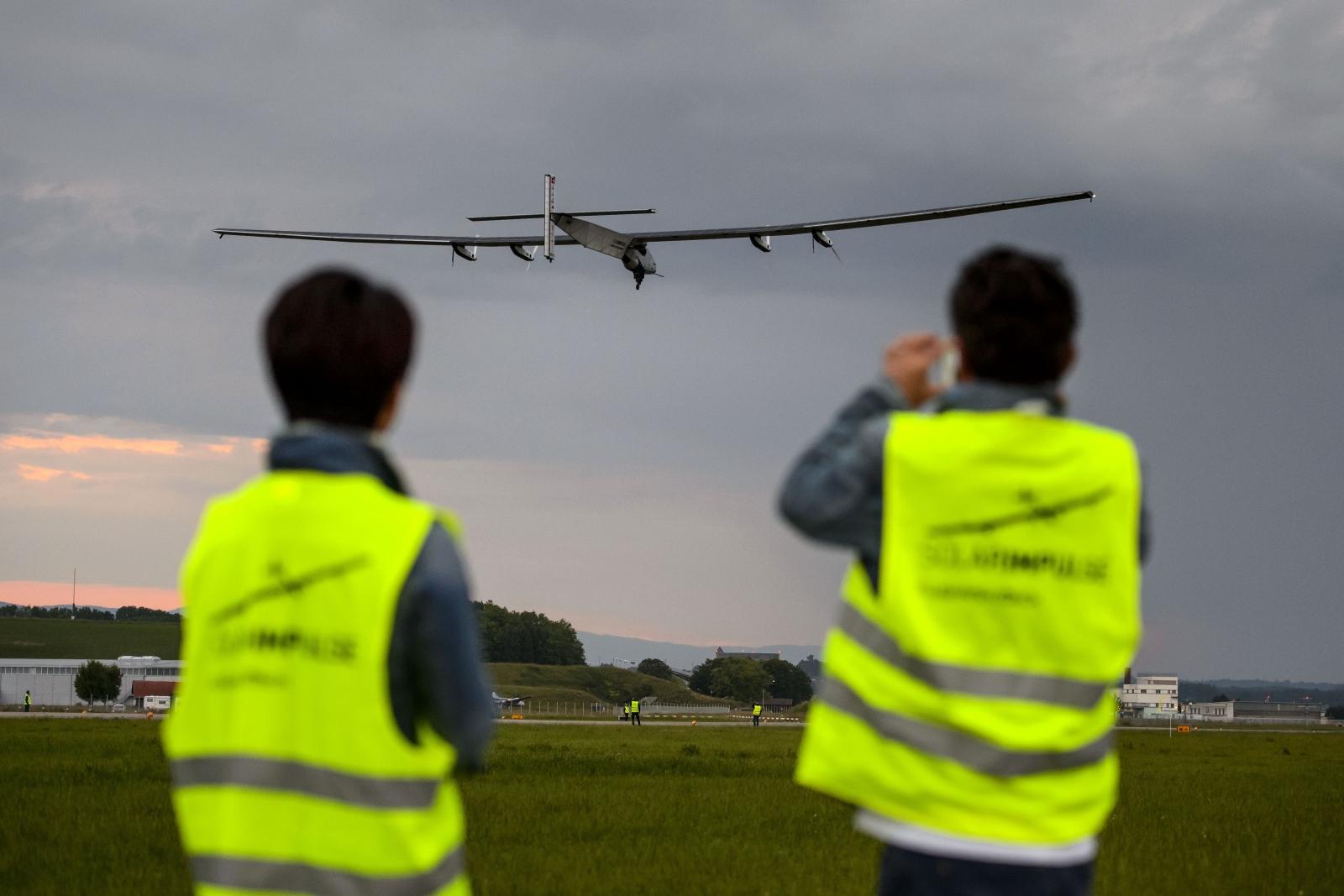 Solar Impulse 2 flight