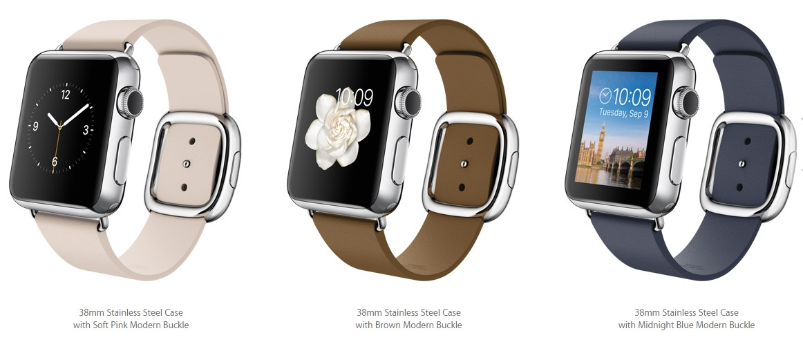 Apple Watch 38mm Modern Buckle