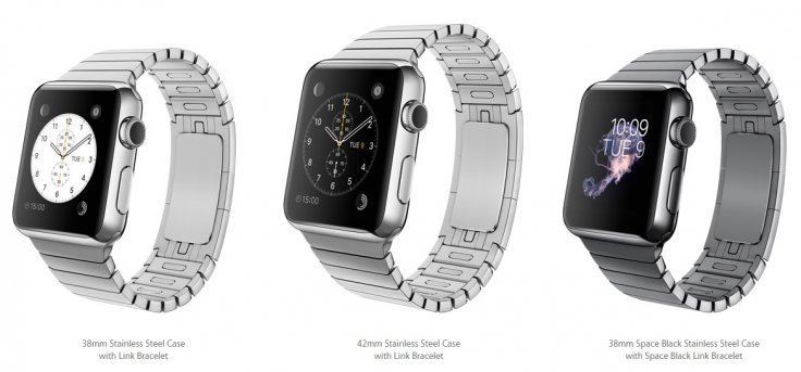 Apple Watch with Link Bracelet
