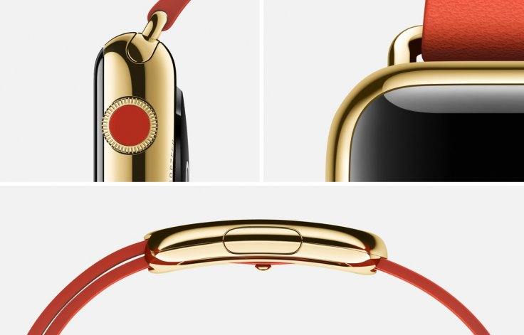 Apple Watch Edition red gold