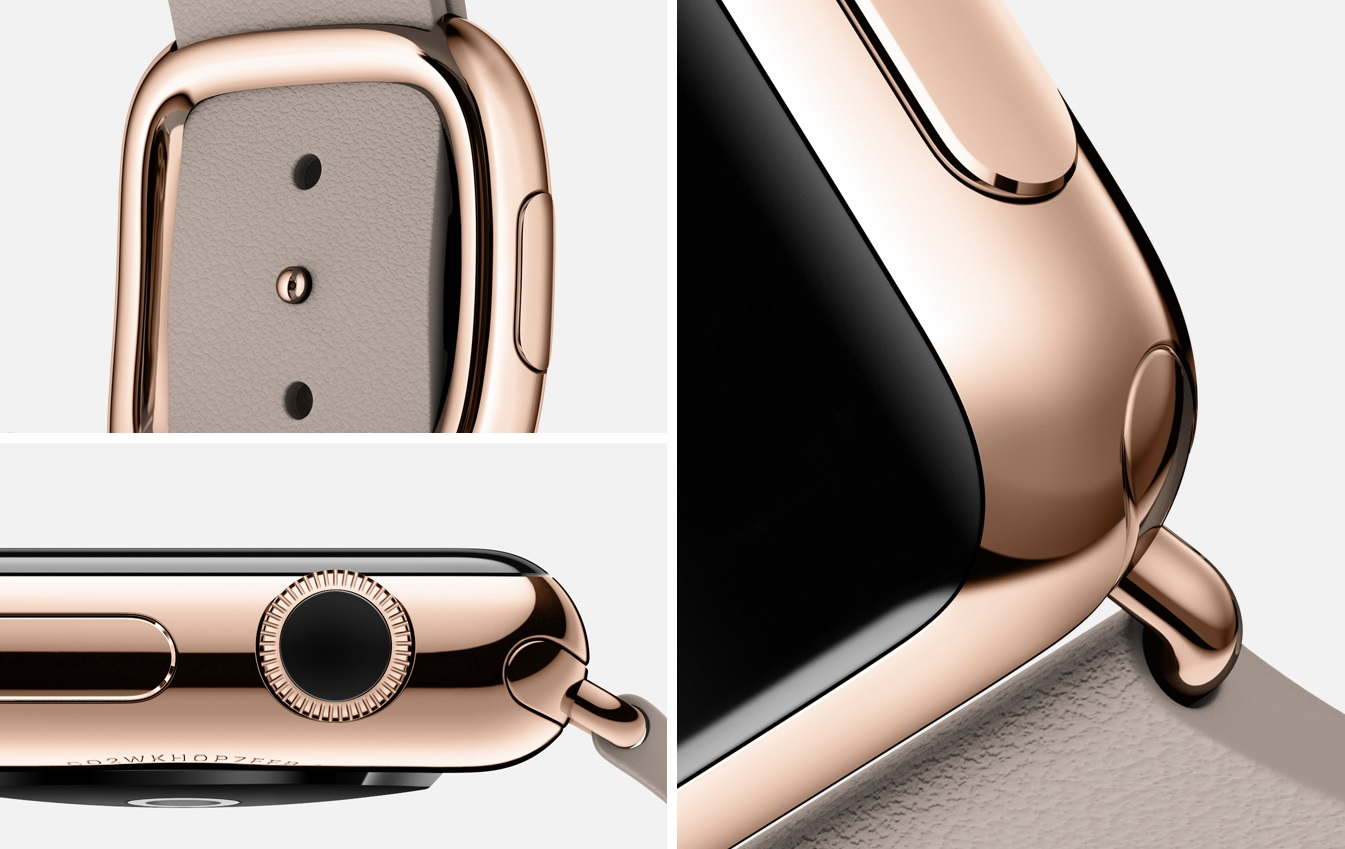 Apple Watch Edition rose gold rose grey