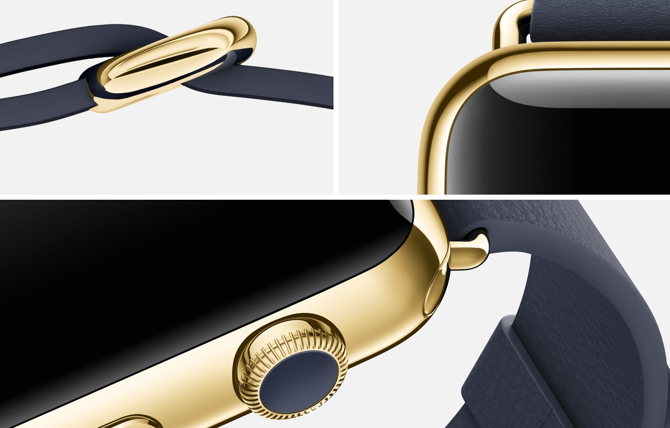 Apple Watch Edition midnight blue classic buckle