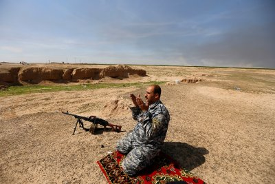 battle for Tikrit Isis