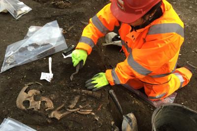 crossrail skeletons bedlam Liverpool Street