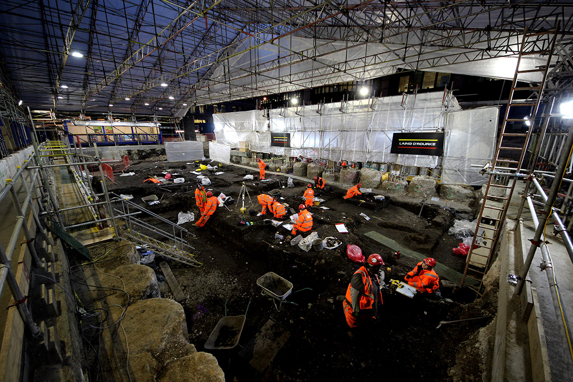 crossrail skeletons bedlam Liverpool Street