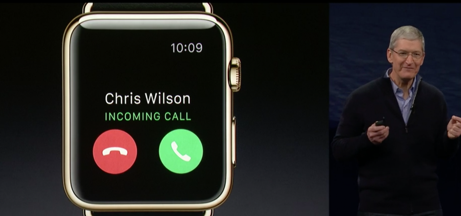 Apple Watch calls