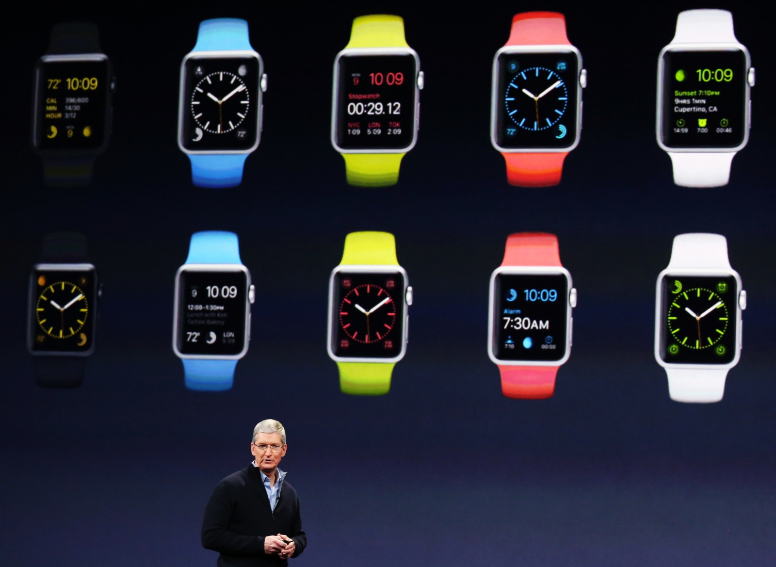 Apple Watch: iPhone maker faces competition from Samsung ...
