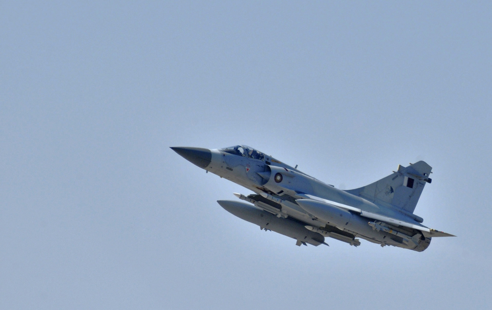 Qatar Emiri Air Force Dassault 2000-5