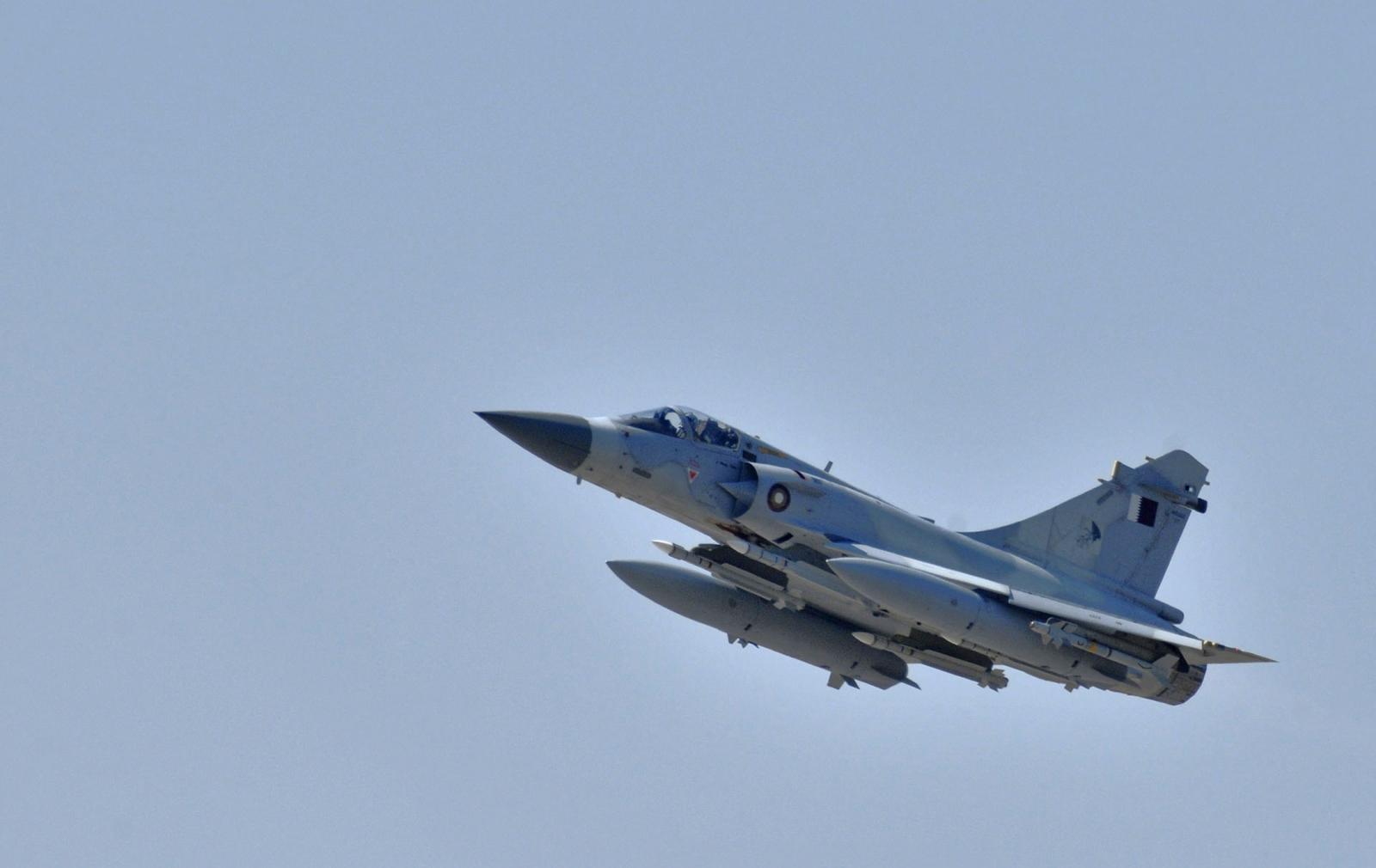 Qatar warplane