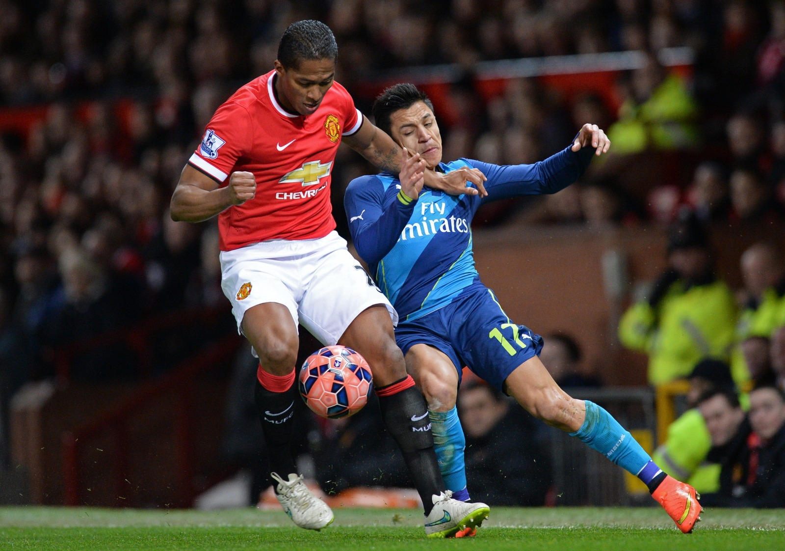 Antonio Valencia v Arsenal
