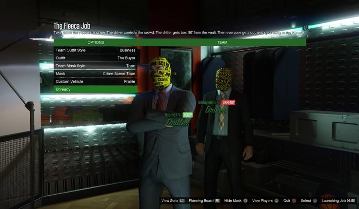 GTA 5 Online Heist Clothes GTA V