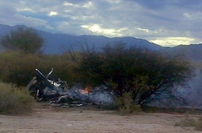 Helicopter Crash Argentina French TV reality show