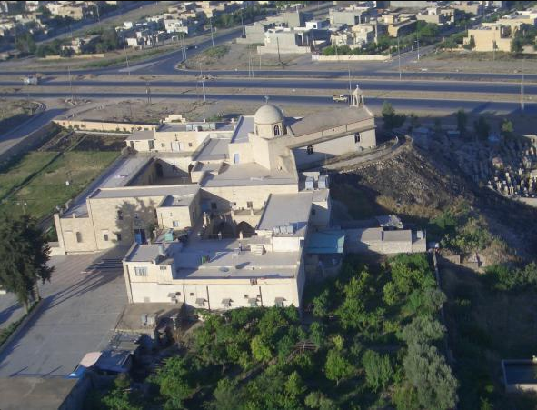 Isis blows up Chaldean Church monastery