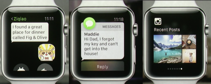 Apple Watch social apps