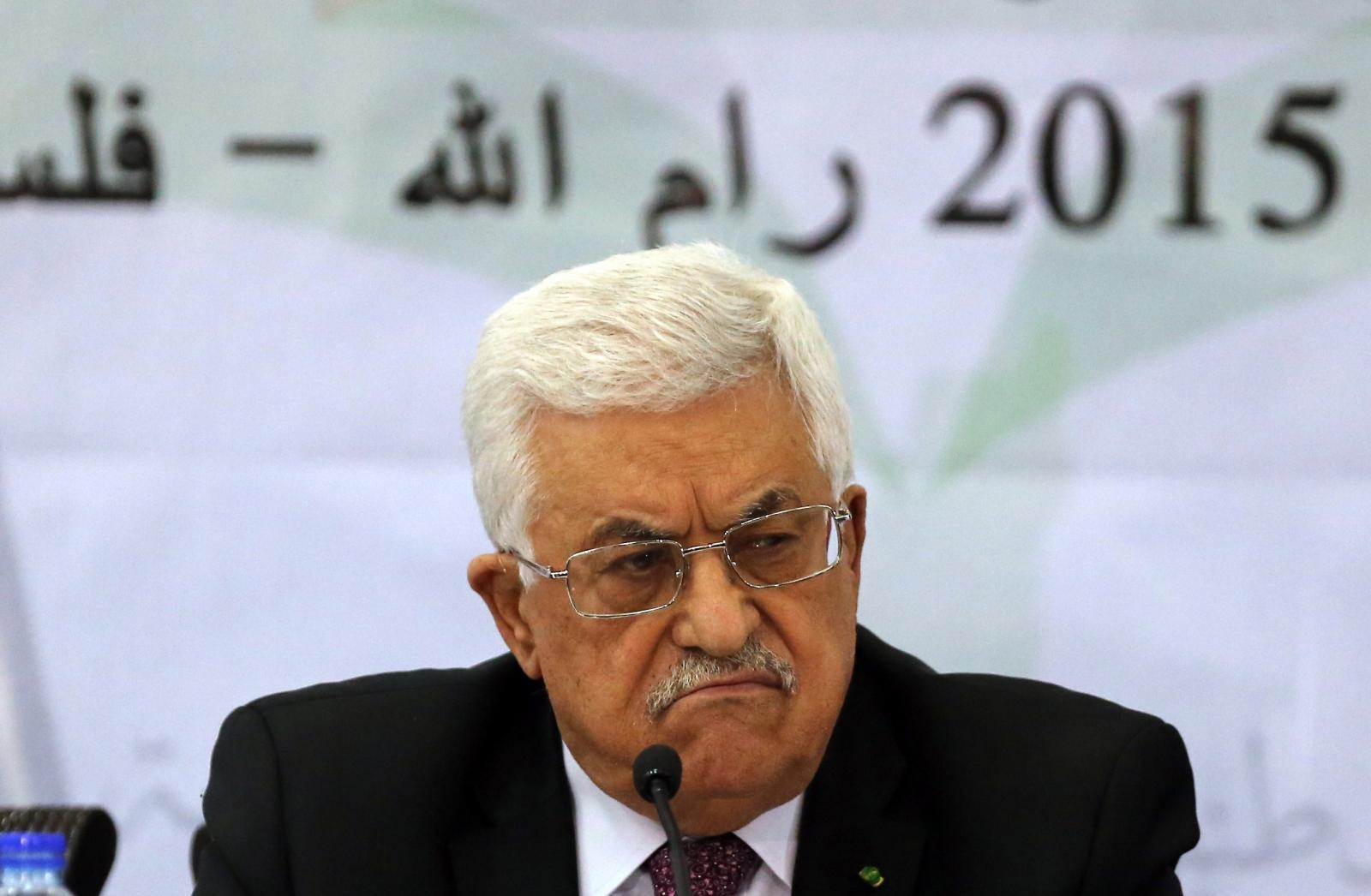 Palestinian leader Mahmud Abbas