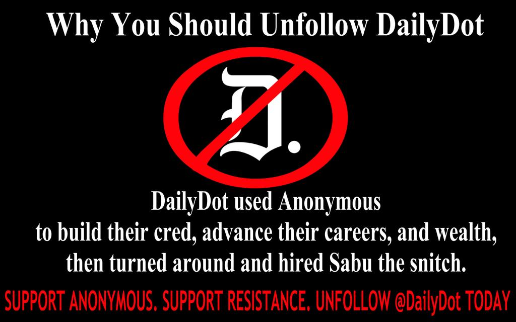 Op Destroy Daily Dot Anonymous