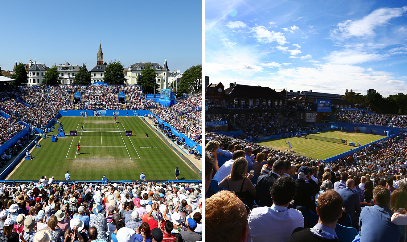 Devonshire Park and Queen's Club