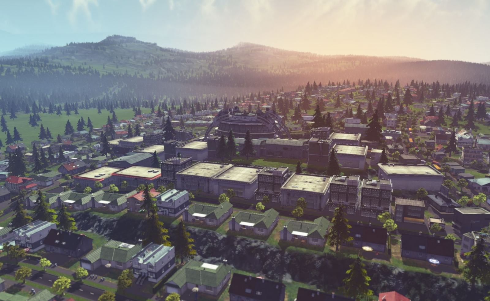 Cities Skylines Vista Colossal Order