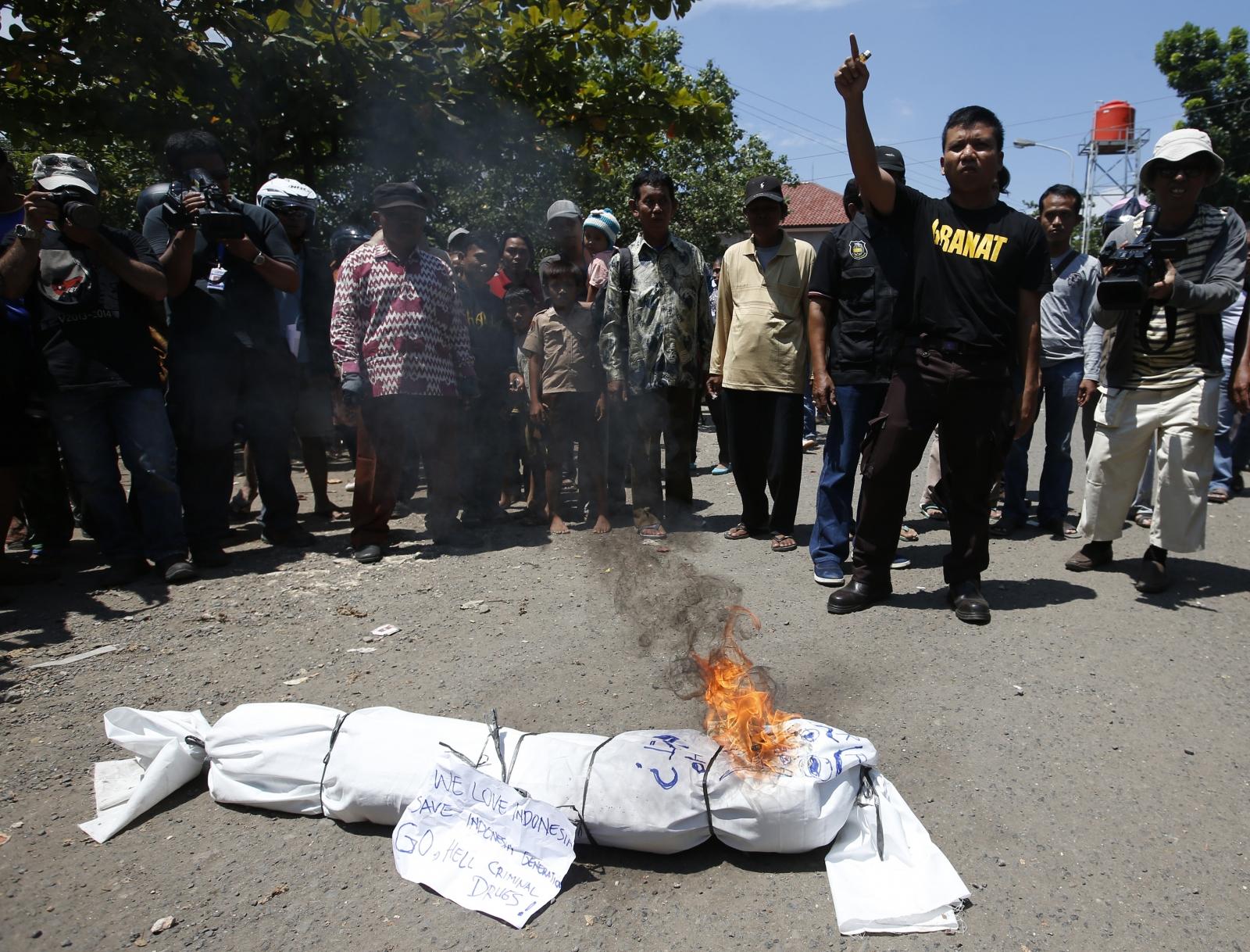 Bali 9 protest