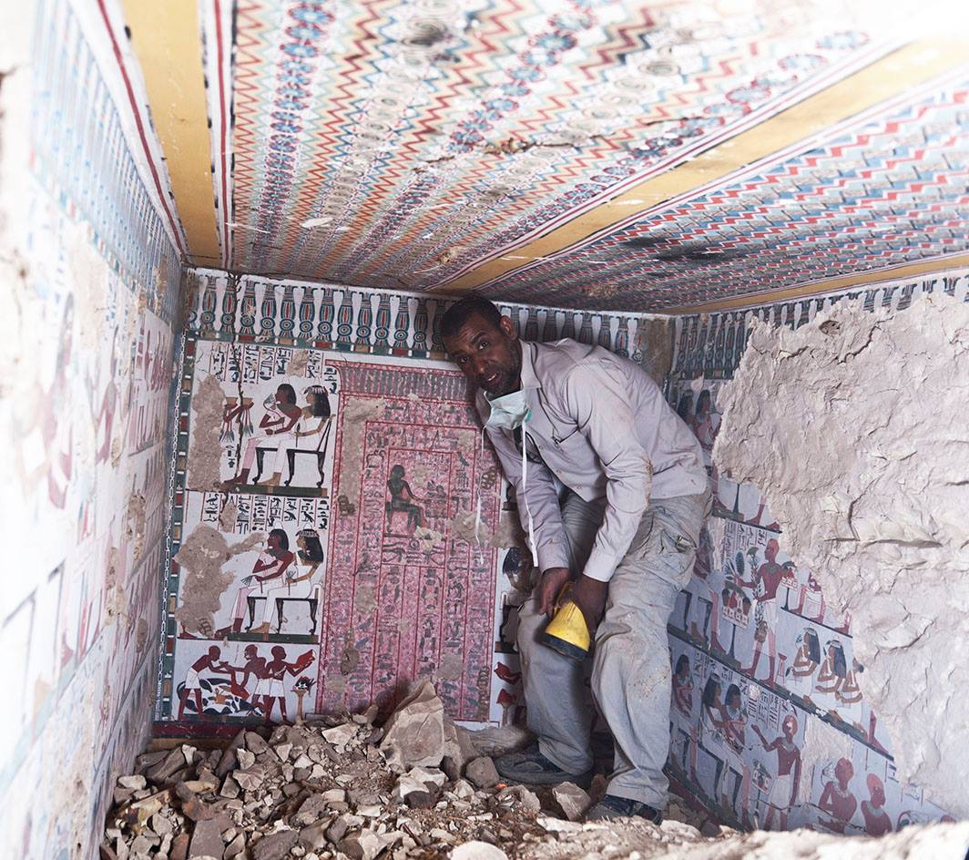 ancient egypt tomb