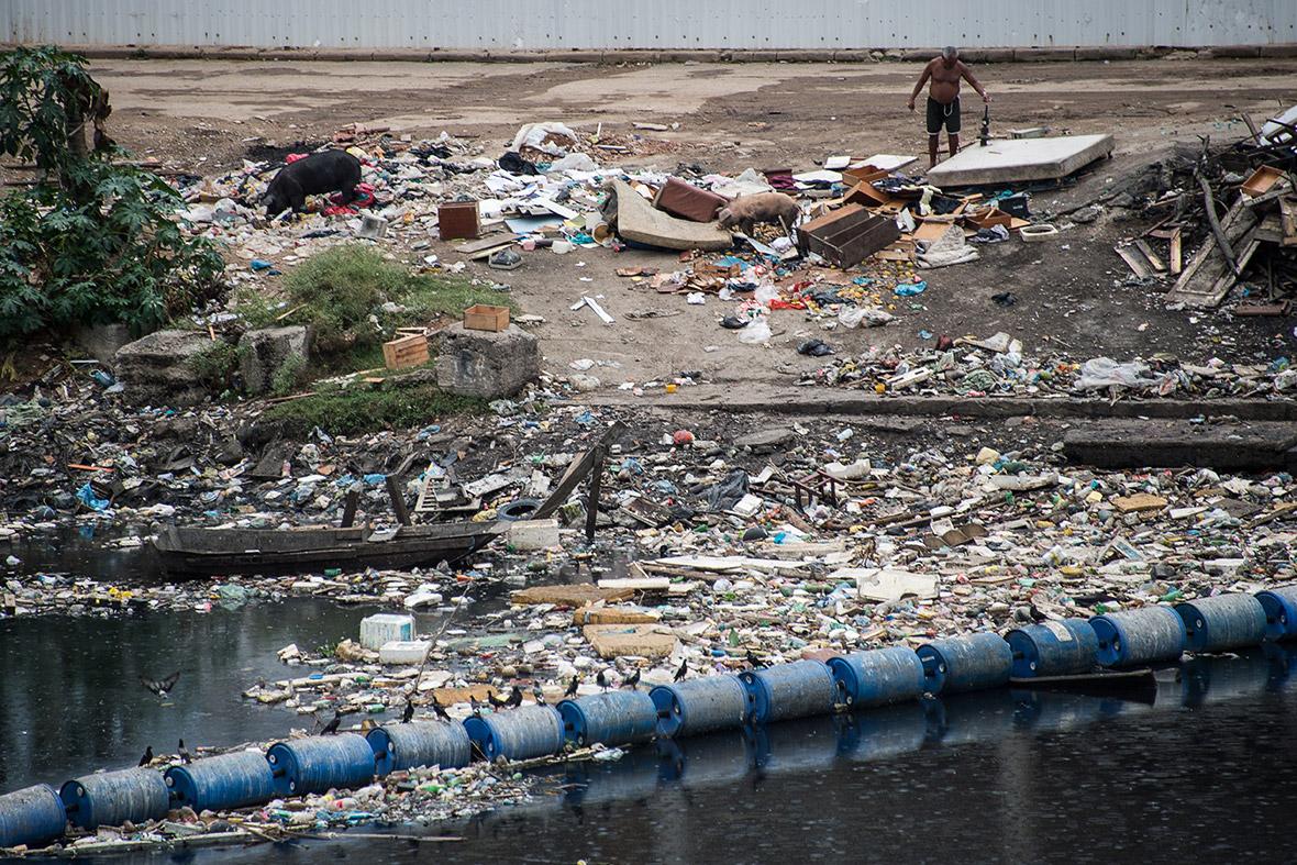 Rio de Janeiro pollution