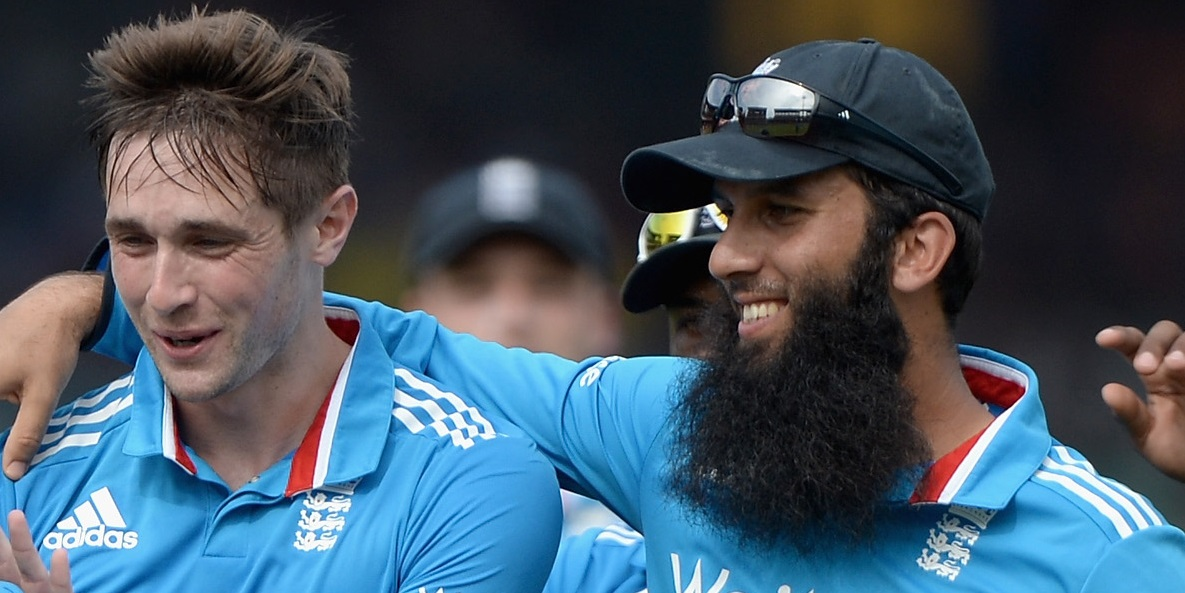 Chris Woakes and Moeen Ali