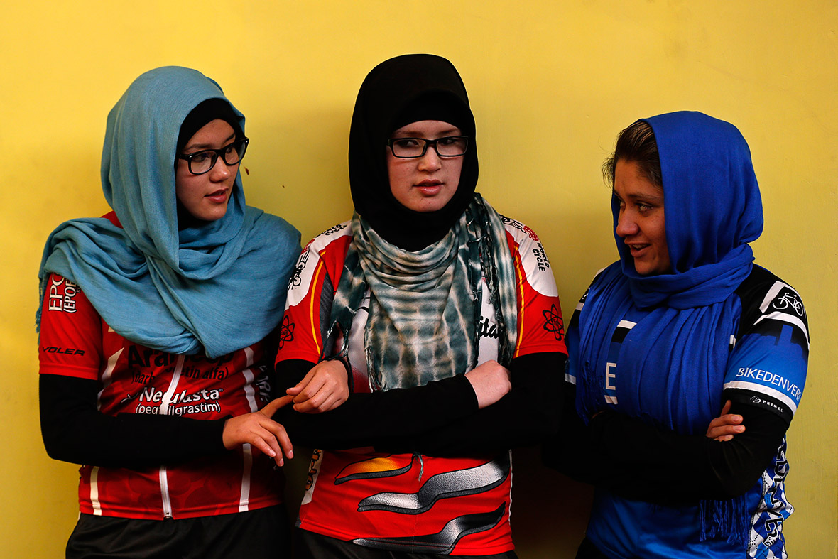 Afghanistan's Women's National Cycling Team