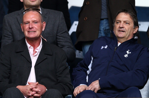 Paul Gascoigne and Gary Mabbutt