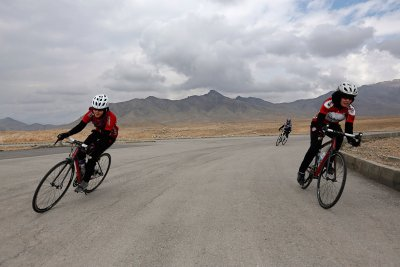 Afghanistans Womens National Cycling Team