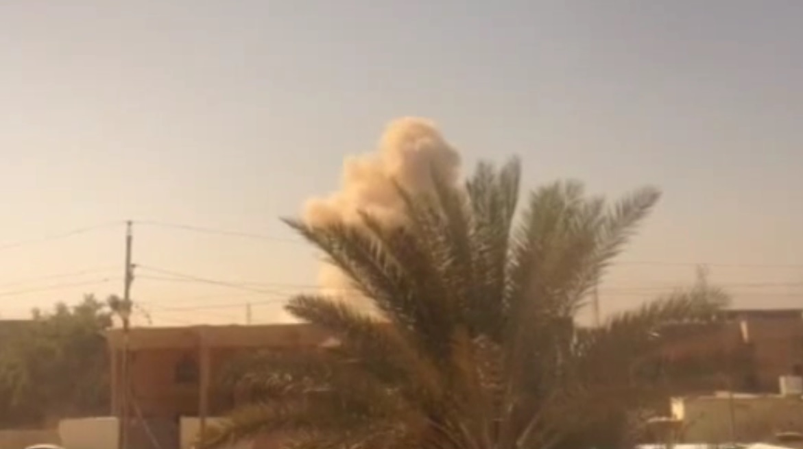 Isis suicide bombers attack Ramadi