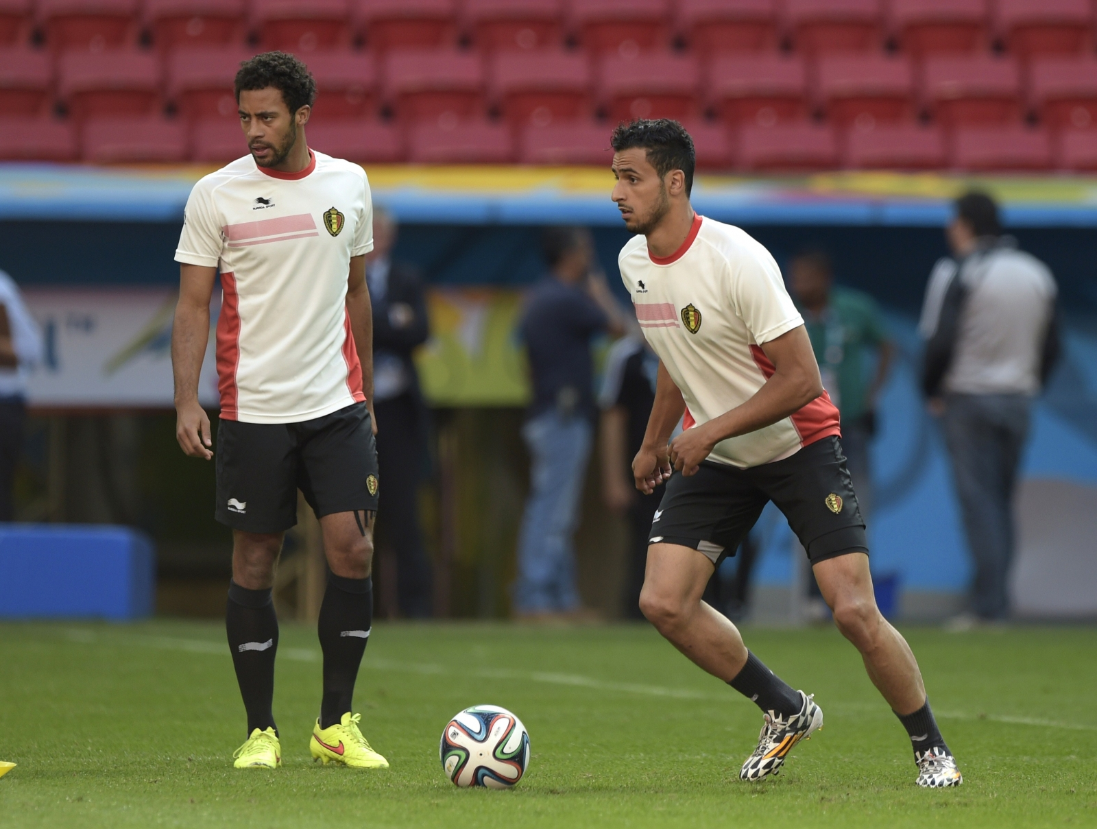 Mousa Dembele and Nacer Chadli