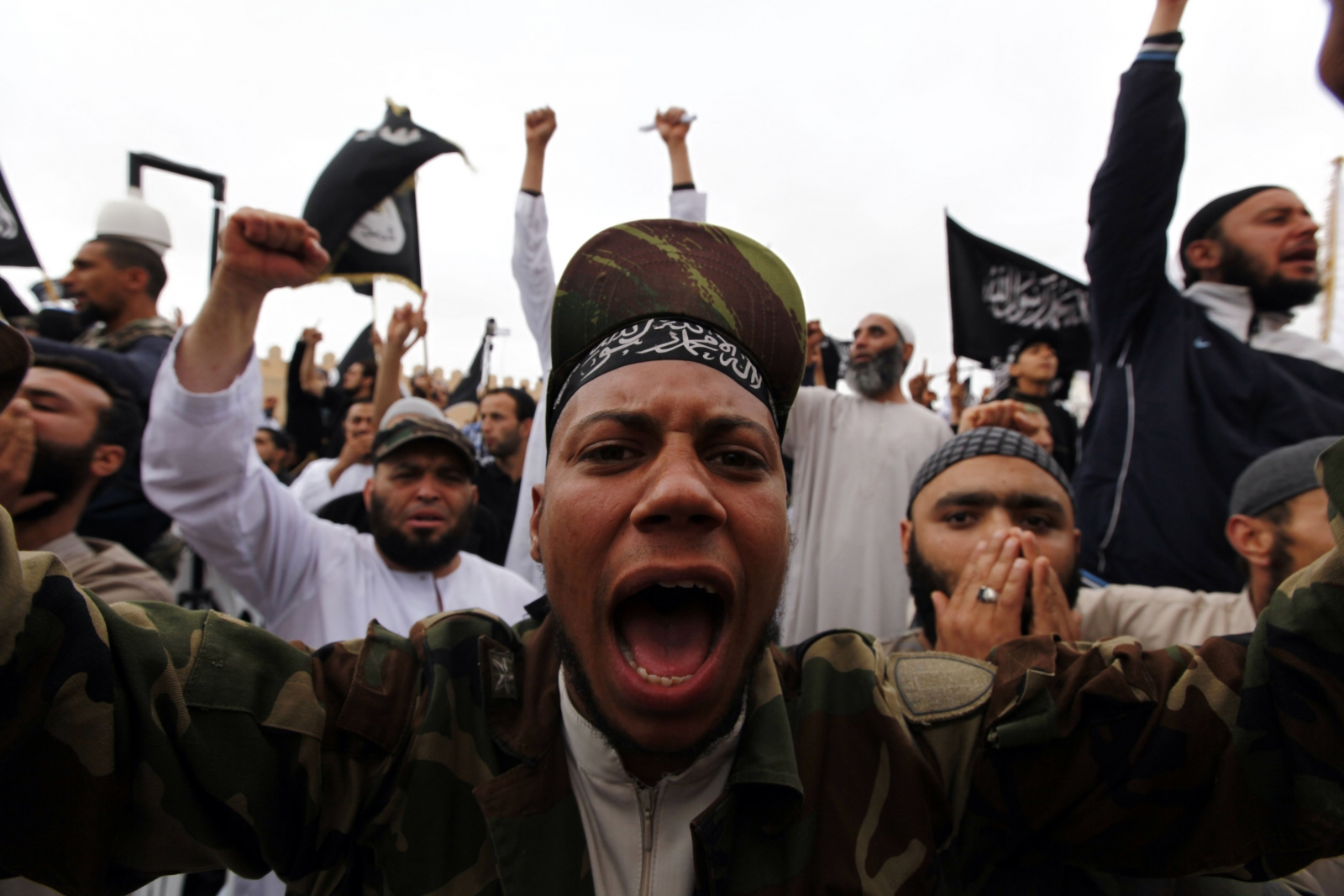 Ansar al-Sharia rally