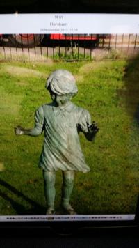 Sarah Payne statue